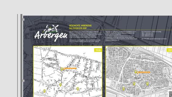 informationstafel-design